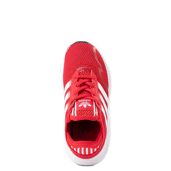 alternate view adidas Swift Run X Athletic Shoe - Little Kid - ScarletALT4B