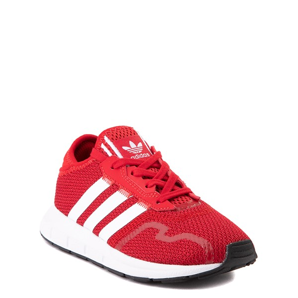 alternate view adidas Swift Run X Athletic Shoe - Little Kid - ScarletALT5