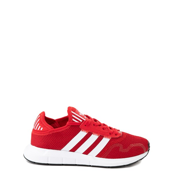 Main view of adidas Swift Run X Athletic Shoe - Big Kid - Scarlet