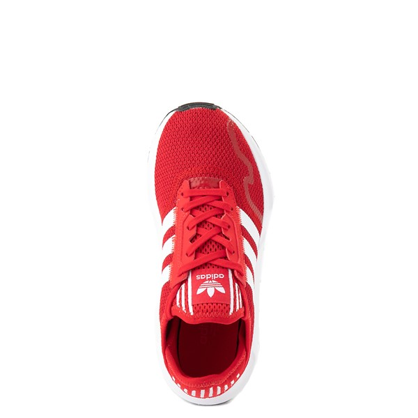 alternate view adidas Swift Run X Athletic Shoe - Big Kid - ScarletALT4B