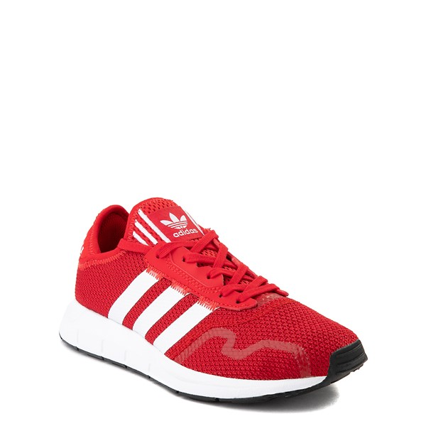 alternate view adidas Swift Run X Athletic Shoe - Big Kid - ScarletALT5