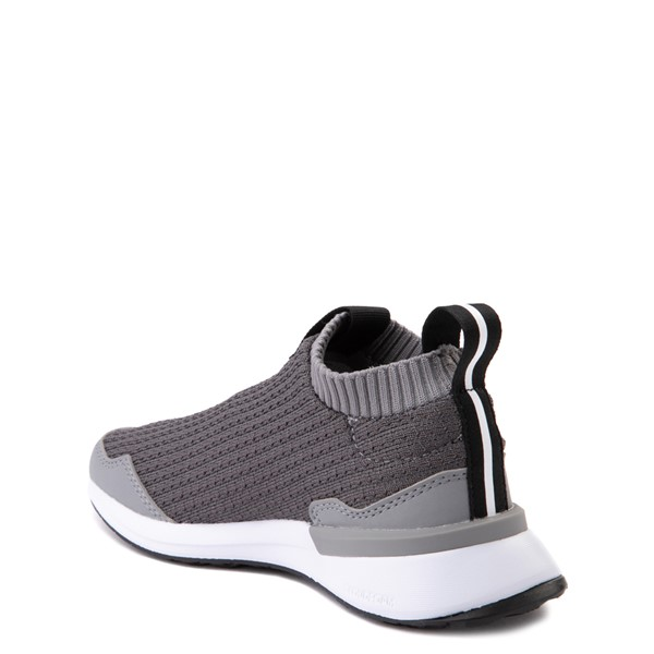 alternate view adidas RapidaRun Laceless Athletic Shoe - Little Kid - GrayALT1