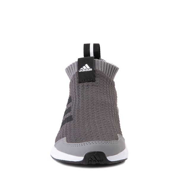 alternate view adidas RapidaRun Laceless Athletic Shoe - Little Kid - GrayALT4