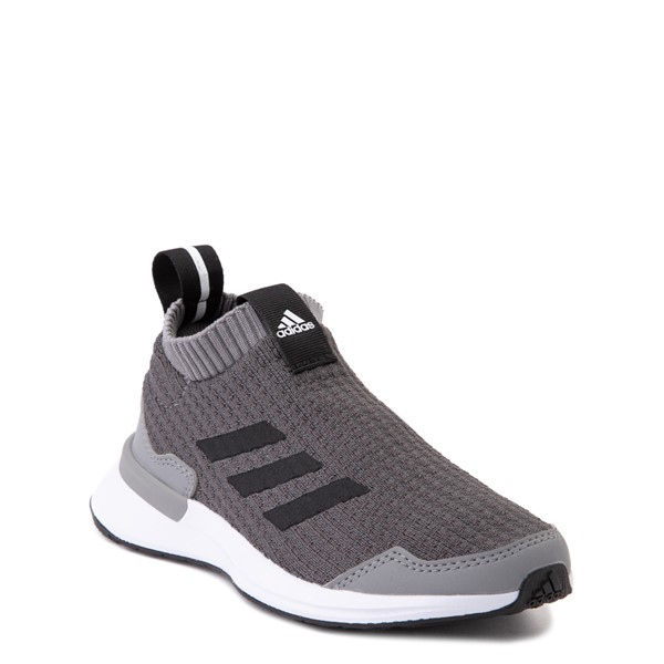 alternate view adidas RapidaRun Laceless Athletic Shoe - Little Kid - GrayALT5