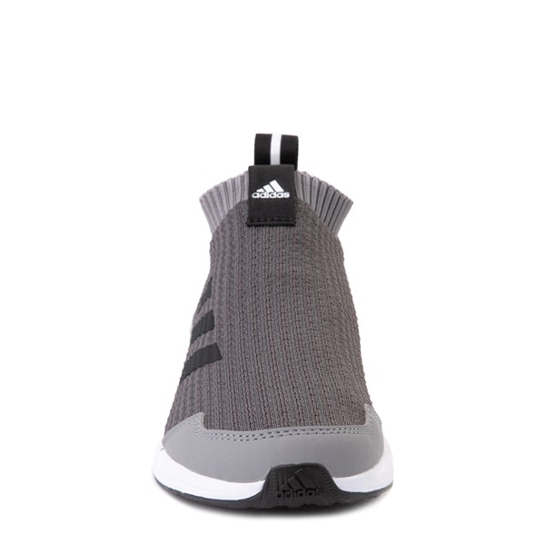 alternate view adidas RapidaRun Laceless Athletic Shoe - Big Kid - GrayALT4