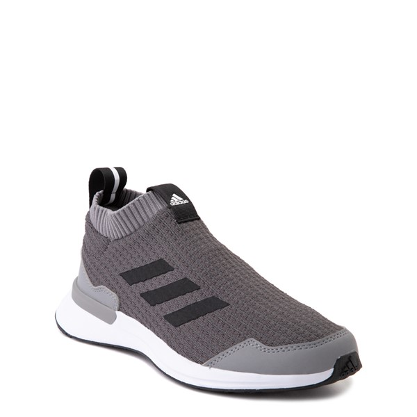 alternate view adidas RapidaRun Laceless Athletic Shoe - Big Kid - GrayALT5