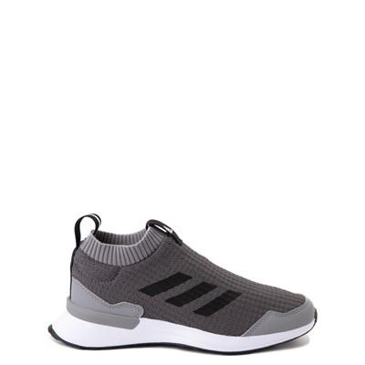 Main view of adidas RapidaRun Laceless Athletic Shoe - Big Kid - Gray
