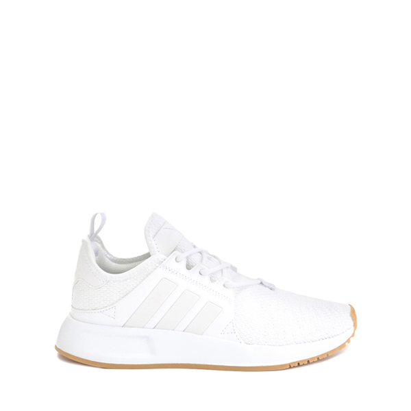 Main view of adidas X_PLR Athletic Shoe - Big Kid - White / Gum