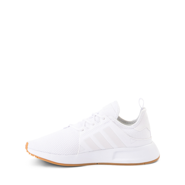 alternate view adidas X_PLR Athletic Shoe - Big Kid - White / GumALT1