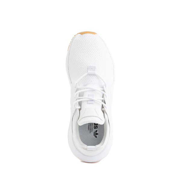 alternate view adidas X_PLR Athletic Shoe - Big Kid - White / GumALT2