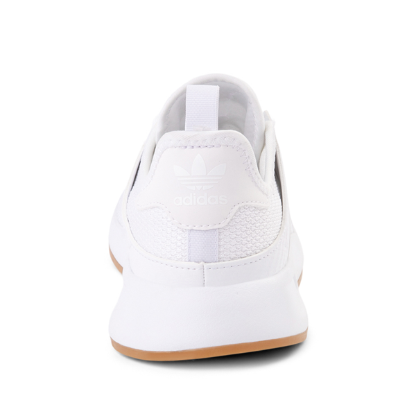 alternate view adidas X_PLR Athletic Shoe - Big Kid - White / GumALT4
