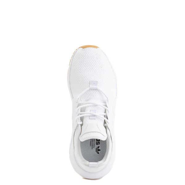 alternate view adidas X_PLR Athletic Shoe - Big Kid - White / GumALT4B