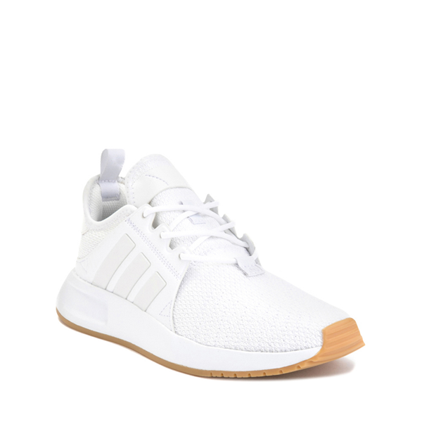 alternate view adidas X_PLR Athletic Shoe - Big Kid - White / GumALT5