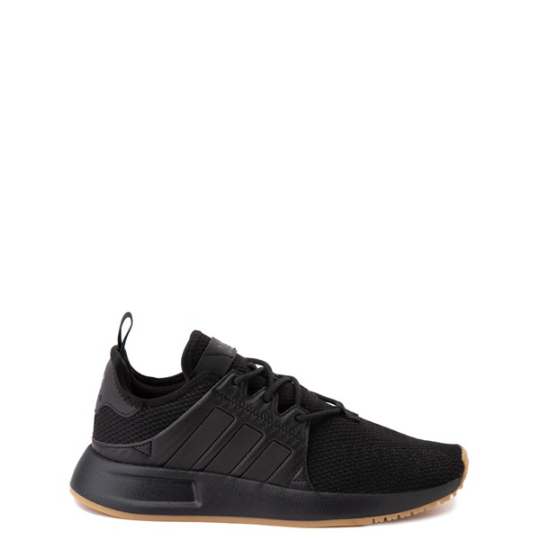 Main view of adidas X_PLR Athletic Shoe - Big Kid - Black / Gum