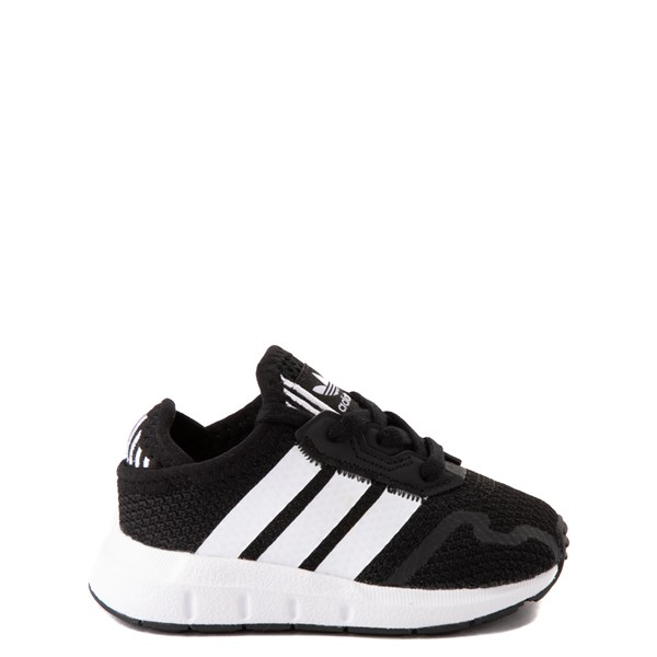 adidas Swift Run X Athletic Shoe - Baby / Toddler - Black