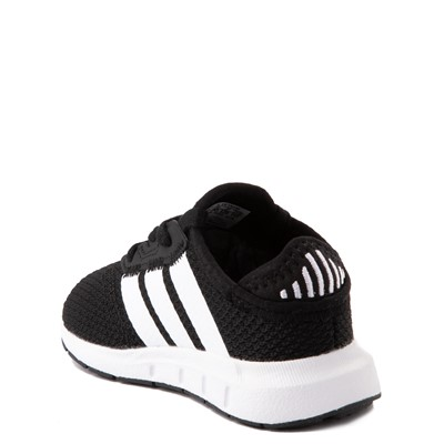 Alternate view of adidas Swift Run X Athletic Shoe - Baby / Toddler - Black