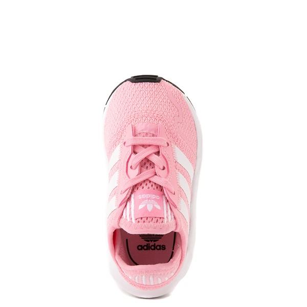 alternate view adidas Swift Run X Athletic Shoe - Baby / Toddler - PinkALT2