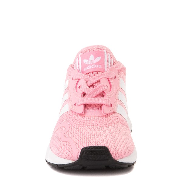 alternate view adidas Swift Run X Athletic Shoe - Baby / Toddler - PinkALT4