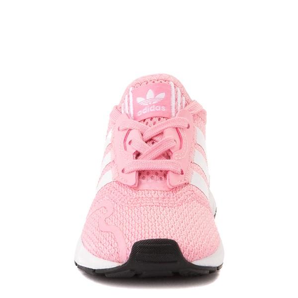 alternate view adidas Swift Run X Athletic Shoe - Baby / Toddler - PinkALT4
