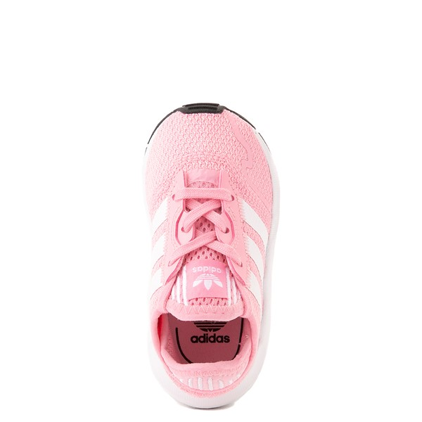 alternate view adidas Swift Run X Athletic Shoe - Baby / Toddler - PinkALT4B