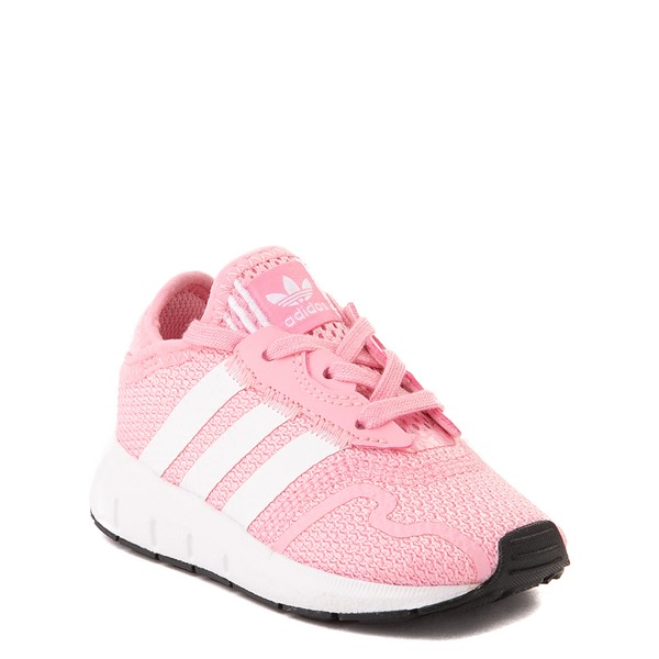 alternate view adidas Swift Run X Athletic Shoe - Baby / Toddler - PinkALT5