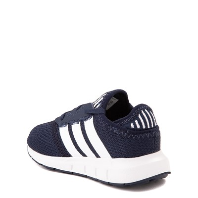 Alternate view of adidas Swift Run X Athletic Shoe - Baby / Toddler - Navy