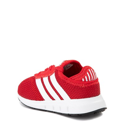 Alternate view of adidas Swift Run X Athletic Shoe - Baby / Toddler - Red