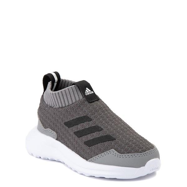 alternate view adidas RapidaRun Laceless Athletic Shoe - Baby / Toddler - GrayALT1