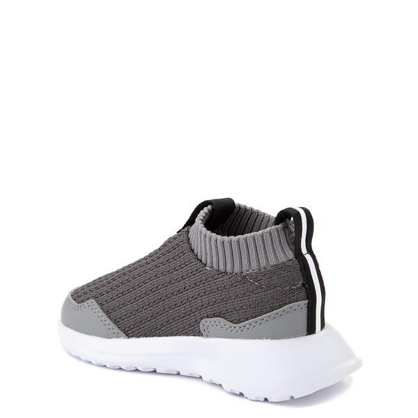 alternate view adidas RapidaRun Laceless Athletic Shoe - Baby / Toddler - GrayALT2