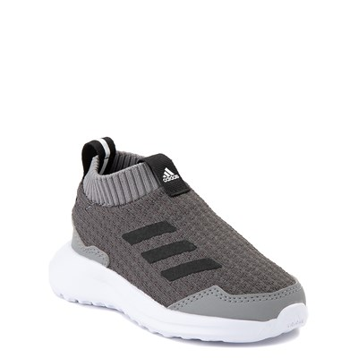 Alternate view of adidas RapidaRun Laceless Athletic Shoe - Baby / Toddler - Gray