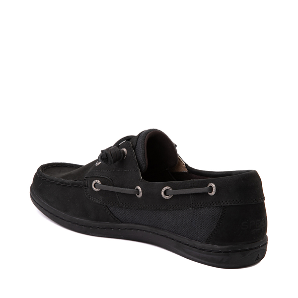 alternate view Womens Sperry Top-Sider Songfish Boat Shoe - BlackALT1