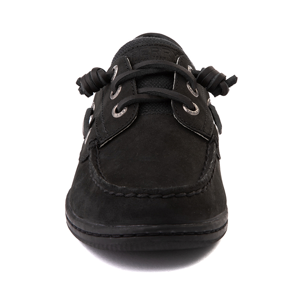 alternate view Womens Sperry Top-Sider Songfish Boat Shoe - BlackALT4