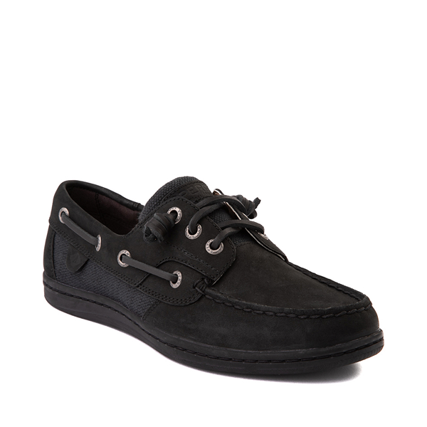 alternate view Womens Sperry Top-Sider Songfish Boat Shoe - BlackALT5