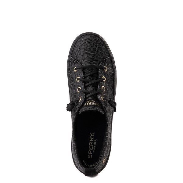 alternate view Womens Sperry Top-Sider Crest Vibe Platform Casual Shoe - Black LeopardALT4B