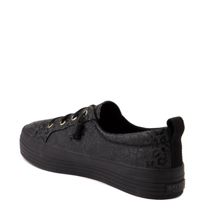 Alternate view of Womens Sperry Top-Sider Crest Vibe Platform Casual Shoe - Black Leopard