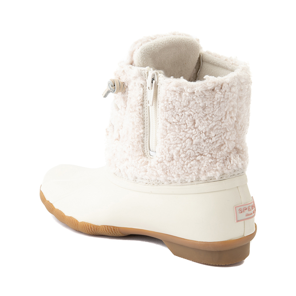 alternate view Womens Sperry Top-Sider Saltwater Sherpa Boot - IvoryALT1