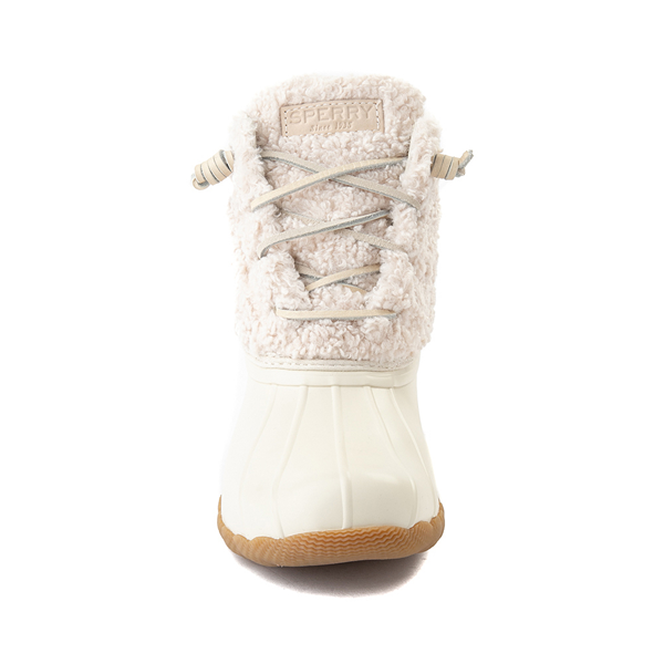 alternate view Womens Sperry Top-Sider Saltwater Sherpa Boot - IvoryALT4