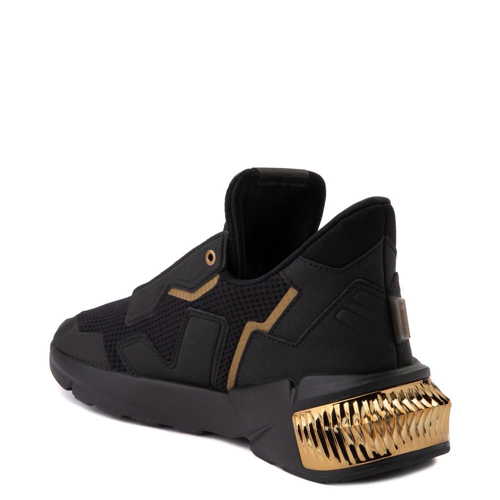 Womens Puma Provoke XT Athletic Shoe - Black / Gray / Gold