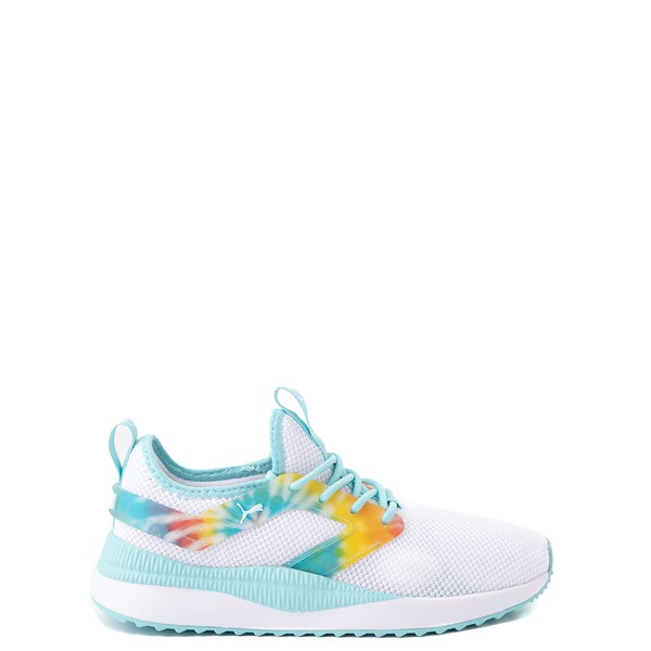Puma Pacer Next Excel Athletic Shoe - Big Kid - White / Tie Dye