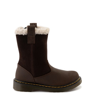 Main view of Dr. Martens Juney Boot - Big Kid - Dark Brown