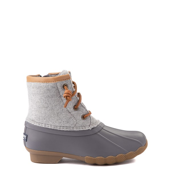 Main view of Sperry Top-Sider Saltwater Wool Boot - Little Kid / Big Kid - Gray