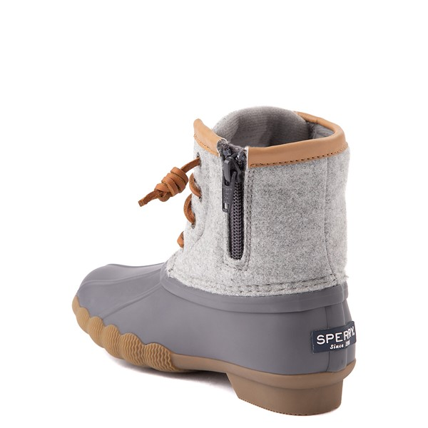 alternate view Sperry Top-Sider Saltwater Wool Boot - Little Kid / Big Kid - GrayALT1
