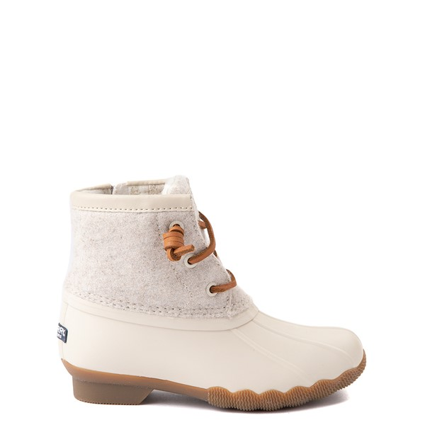 Main view of Sperry Top-Sider Saltwater Wool Boot - Little Kid / Big Kid - Oatmeal