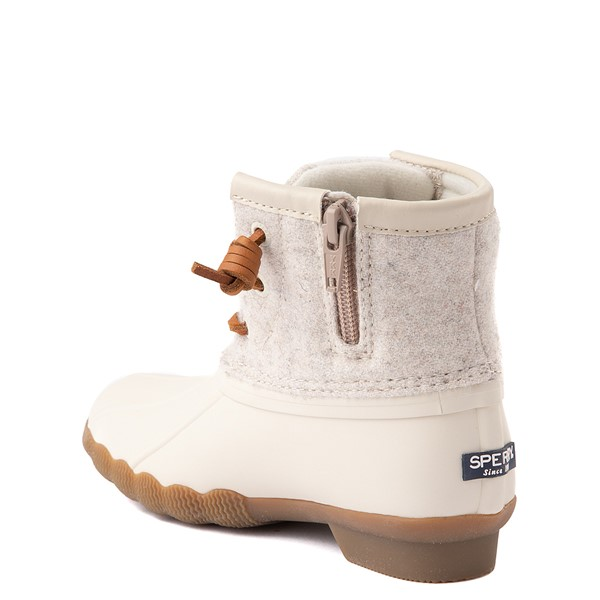 alternate view Sperry Top-Sider Saltwater Wool Boot - Little Kid / Big Kid - OatmealALT1