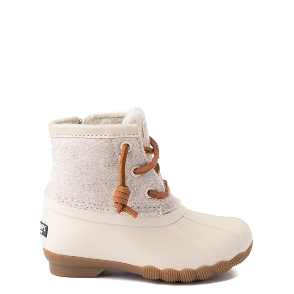 Main view of Sperry Top-Sider Saltwater Wool Boot - Toddler / Little Kid - Oatmeal