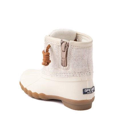 Alternate view of Sperry Top-Sider Saltwater Wool Boot - Toddler / Little Kid - Oatmeal