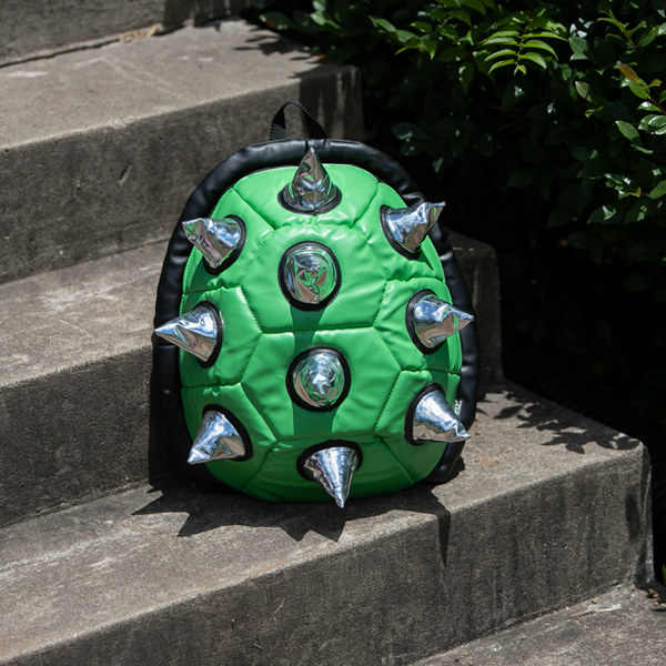 alternate view Spike Shell Backpack - Green / SilverALT1BB