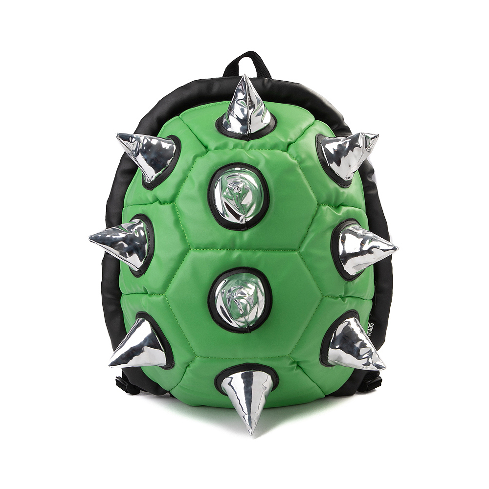 Spike Shell Backpack - Green / Silver