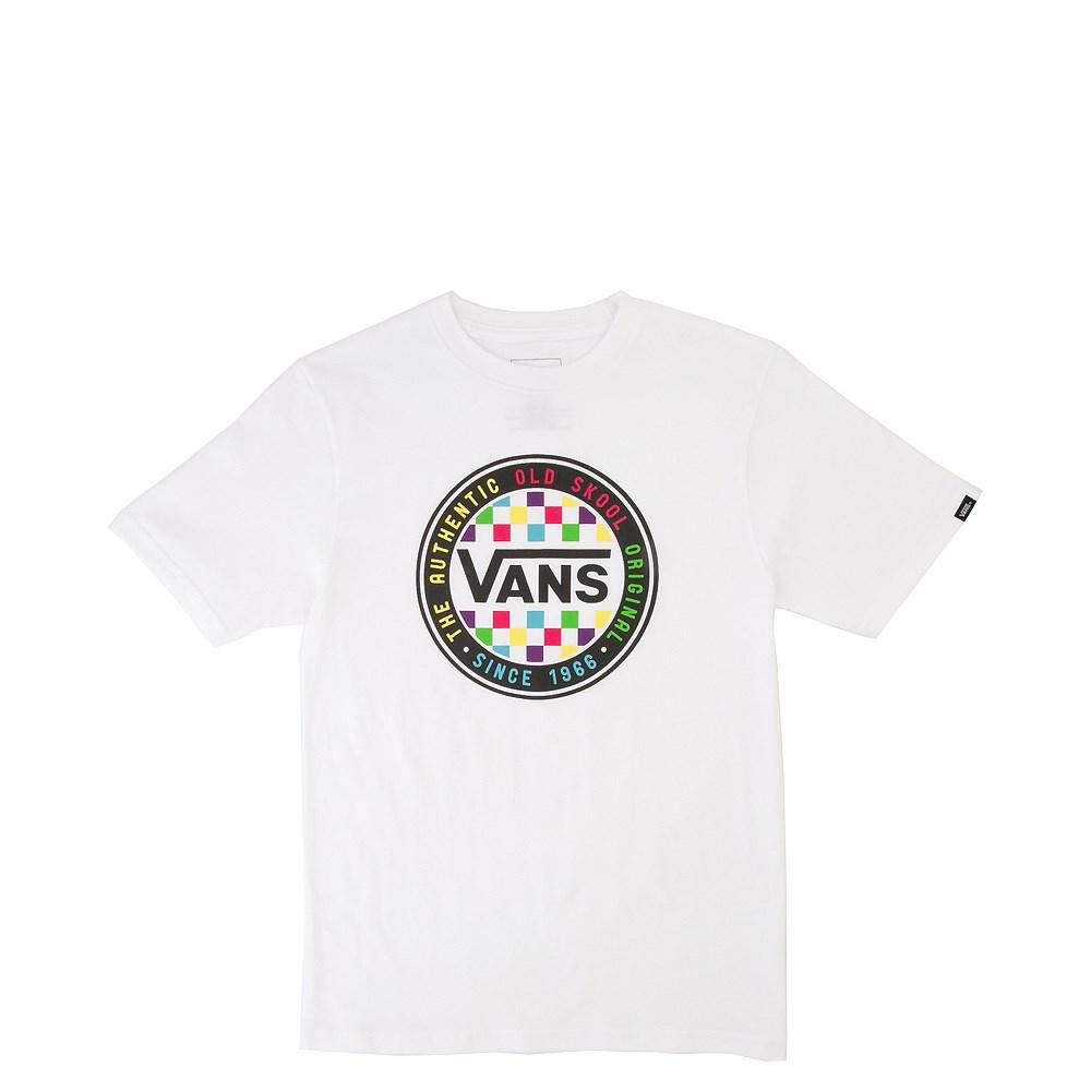 Vans Neon Circle Tee - Little Kid / Big Kid - White