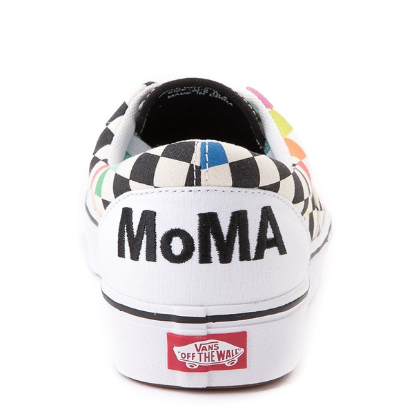 alternate view Vans x MoMA Era ComfyCush® Checkerboard Skate Shoe - White / RainbowALT2B